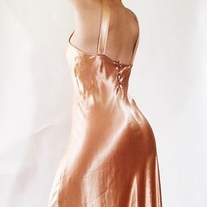 Betsey Johnson | Vintage Satin Dress